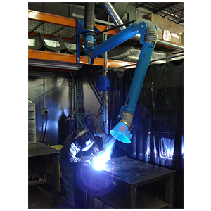 Ventaire Welding Fume Extraction _Fume Extraction Arms