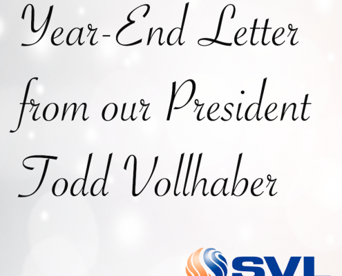 SVL Year End Letter