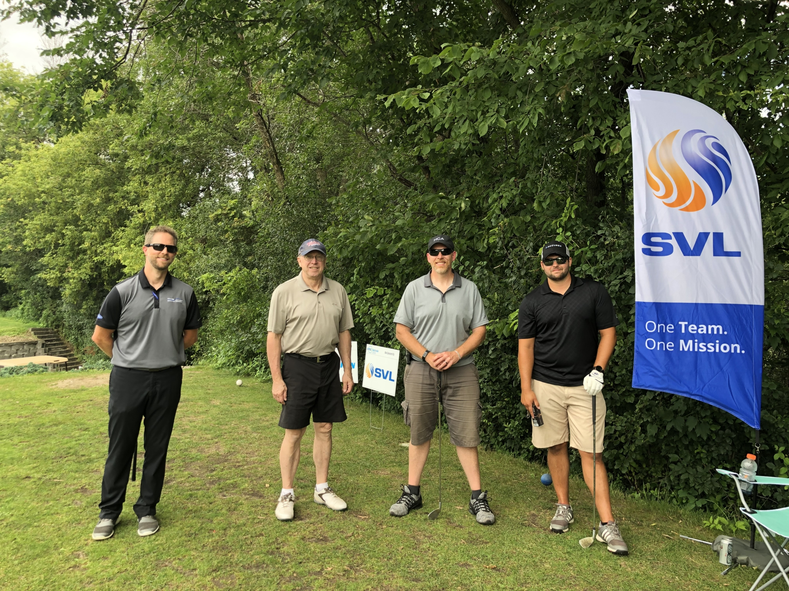 2020 ASHRAE golf tournament golfers